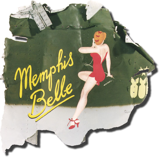 B17 Flying Fortress NoseArt Memphis Belle